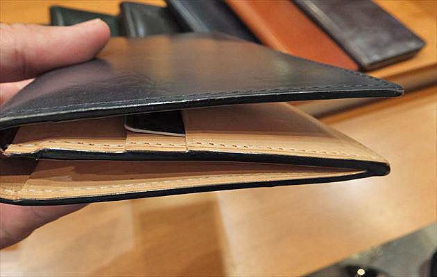 ブライドルアルフレートウォレットは薄マチの長財布