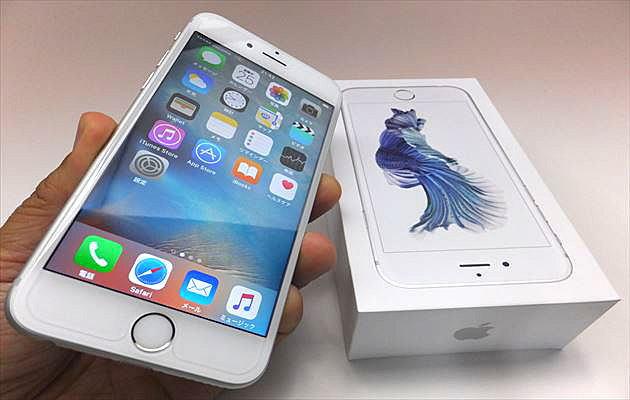 iPhone6sゲットしました