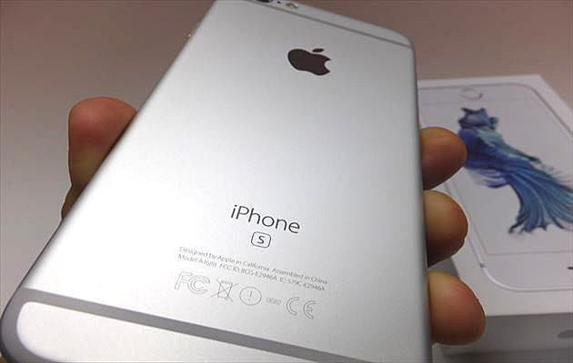 iPhone6s シルバー画像