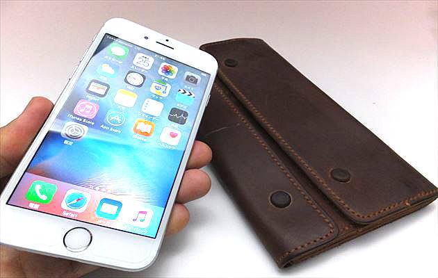 iphone6sとナポレオンカーフ