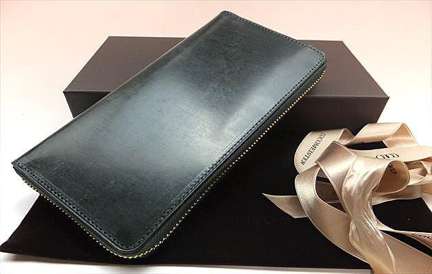 モスグリーン財布