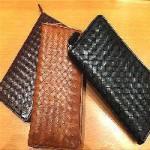 編み込み財布全3色