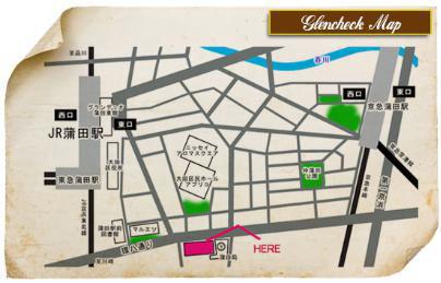 グレンチェックマップ