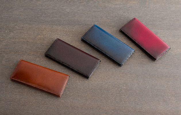 yuhakuコードバン長財布