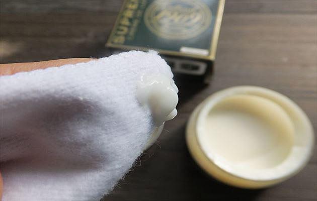 米粒ひとつぶ大のクリーム