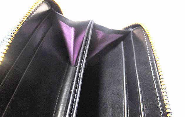 マチの部分は紫色