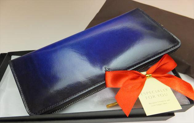 YUHAKU財布をクリスマスプレゼント