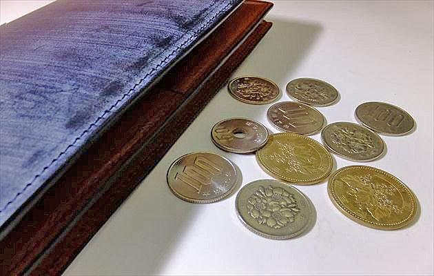 コインが10枚写ってる画像