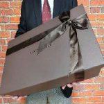 ココマイスター バッグ(鞄)ラッピング梱包の実物写真 紹介します