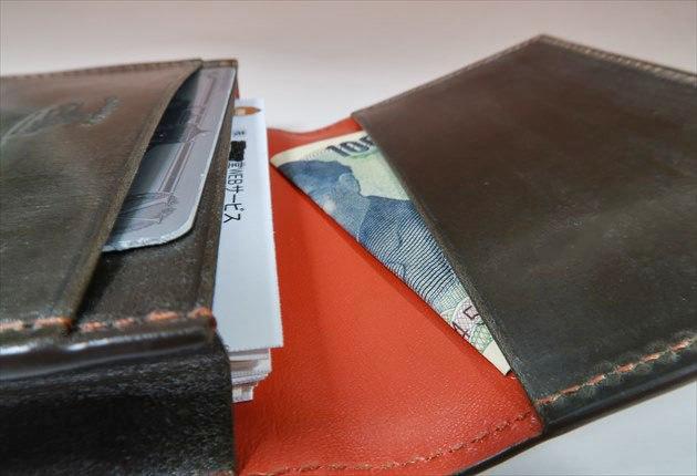 オークバークマークスベリーの内装のフリーポケット