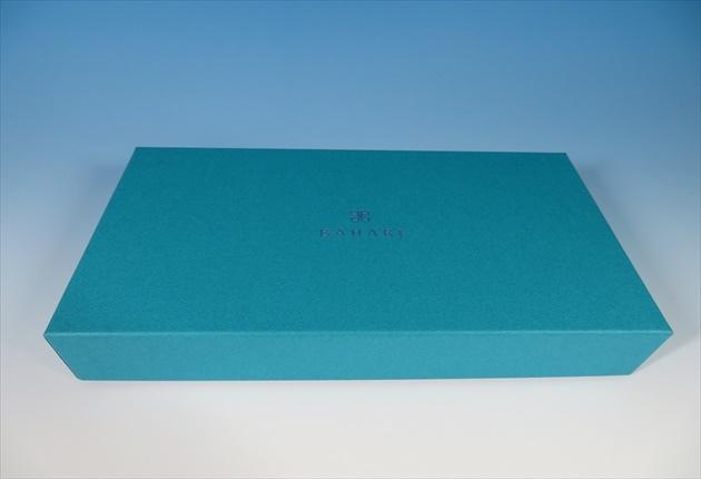 BAHARIのお洒落な青い箱