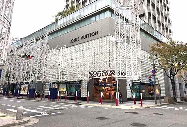 ルイヴィトン神戸店