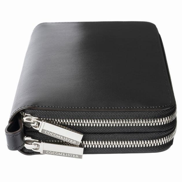 ダブルファスナー財布鞄